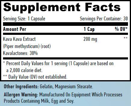 Haya labs kava kava / 200 mg 30 caps  | hayalabs co uk